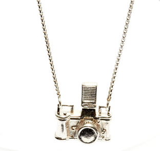 Made in USA Camera Necklace